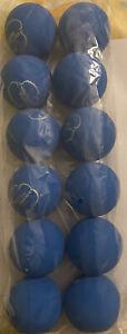 Sky Bounce Balls Blue Color 12 Count Brand New Original
