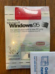 Microsoft Windows 95 OEM Operating System CD & Floppy WIN95