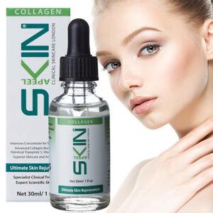 100% Pure Collagen Serum Natural Anti Wrinkle Ageing Skin Micro Derma Roller UK
