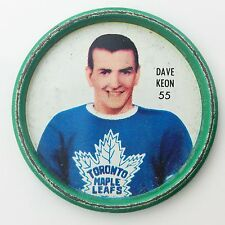 Shirriff Centre Dave Keon #55 Toronto Maple Leafs NHL Hockey Metal Coin A497