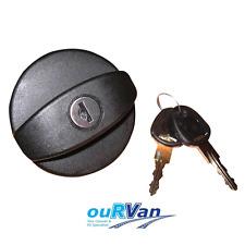 1 x NEW Black Spare Cap & Keys for Lockable Caravan Water Tank Filler 800-00922