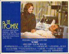 THE PROMISE, three original 1979 Lobby Cards, Kathleen QUINLAN plastic surgery