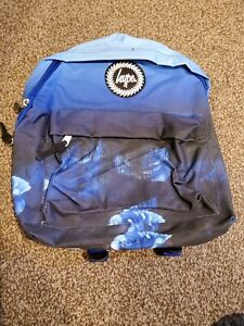 Hype Blue Rose Drips Backpack brand new