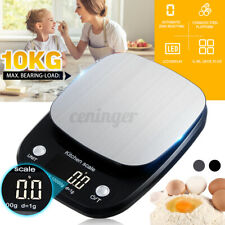 10kg/1g Digital LCD Electronic Kitchen Balance Scale Food Weight Postal Scales