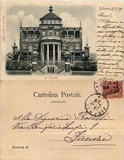 Palermo, la Favorita, viaggiata 1899