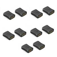 1X(10Pcs Hdmi Female To Female Coupler Extender Adapter Connector F F For HQ2Q4)