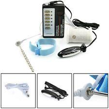 Elettro shock Dispositivo siluro E-Stim Cintura Anelli Plug Terapia uretrale