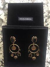 *DOLCE & GABBANA* Earrings/ Clip Ons