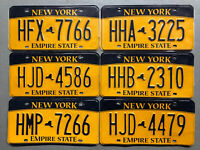 ONE NEW YORK LICENSE PLATE FAIR/GOOD CONDITION FREE SHIPPING!!!! ON SALE NOW!!!