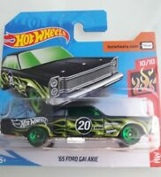 '68 Ford Galaxie Hot Wheels 2020 Case M Hw Flames 10/10 Mattel