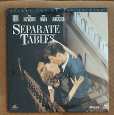 SEALED Separate Tables Letterbox Laserdisc #ML10175 Rita Hayworth Burt Lancaster