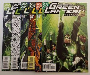 Green Lantern Rebirth #1-6 Complete Set High Grade DC Comics 2004
