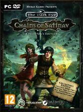The Dark Eye: Chains of Satinav (PC DVD) PC Fast Free UK Postage 5060264370320