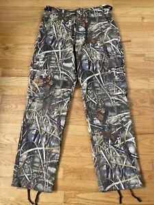 Cabela's Advantage Max-4 Brown Camo Hunting Pants Mens 34 R NWOT