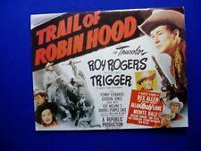 Roy Rogers in Trail of Robin Hood Movie Photo Album.  Paperback  – 1988 VFN.