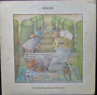 GENESIS SELLING ENGLAND BY THE POUND LP Lyric Insert Charisma CAS 1074 1973