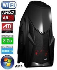 PC Gamer 2017 - A8 Quad Core AM4 4 x 3.1Ghz - 1000Go - DDR4 8Go - WiFi - Windows