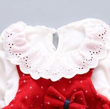 Baby girl costume t-shirt top + sling dress children princess party
