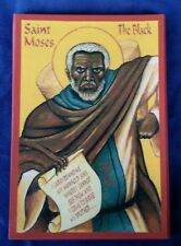 EASTERN ORTHODOX ICON OF ST. MOSES THE BLACK