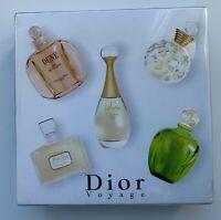 DIOR VOYAGE les parfums SET 5X 5 ML EDT TENDRE POISON DUNE JADORE MISS DIOR