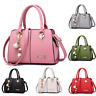 Women Leather Handbag Messenger Shoulder Bag Lady Tote Purse Crossbody Satchel