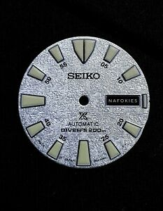 Genuine Seiko Monster Snowflake Dial