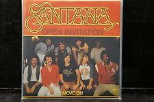 Santana - Open Invitation / Move On (CBS-Blitzinformation)