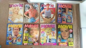 MOVIE magazines rare bulk lot of 22 issues from 1983-1997