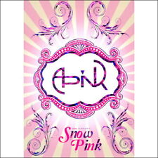 Apink  - Snow Pink (2nd Mini Album) CD+Photobook +Photocard New Sealed CD KPOP
