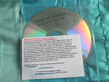 Findlay Brown Ride into the Sun  Promo CD Single