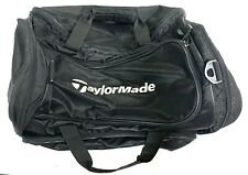 TaylorMade Golf Duffle Sports Gym Travel Black Bag *read*