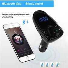 Bluetooth FM transmisor FM MP3 jugadores modulador doble manos libres USB