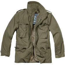 Brandit Giacca Giubbotto giaccone Parka Uomo Vintage M 65 Classic Jacket L Olive