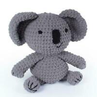 Kev Koala -The Knitty Critters  Complete Crochet Kit 300g Bernat Blanket Yarn