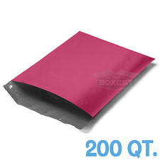 200 Bags 10x13 Pink Poly Mailers Envelopes Bags 10 X 13 25mil The Boxery