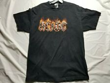 VTG AC/DC Concert ROCK TOUR Shirt Size large Black Short Sleeve 2005