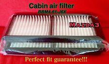 C16098 for 2010 2011 2012 2013 Mazda3 Mazdaspeed Premium AC Cabin filter 2pieces