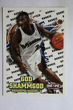 1997-98 Hoops  #204 God Shammgod Rookie Card
