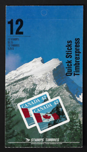 Canada Booklet BK141a Flag MNH Open