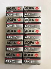Agfapan Apx 25 Professional 24X36mm Exposure Black & White Film expired 01/2004