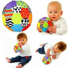 Playgro Baby Toddler Kid Child Soft Stuffed Plush Rattle Soccer Ball Crib Toy 0+