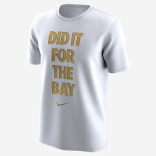 NWT NIKE Golden State Warriors 2017 Celebration Did It For The Bay T-Shirt XXL