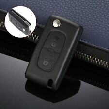 Remote 2 Buttons Key Case Shell Fob for Citroen C2 C5 C3 C4 C6 C8 Replacement