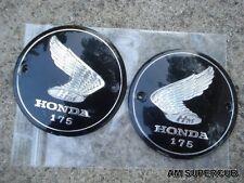 Honda 175 CA175 CD175 CB175 CL175 Gas Tank Emblem // a pair