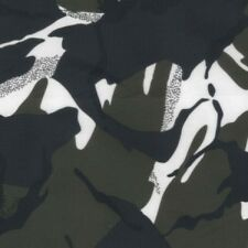 Waterproof Camo Ripstop Army Camouflage Nylon Fabric Material 150cm wide