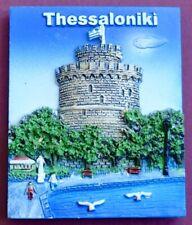 Souvenir Fridge Magnet Thessaloniki White Tower Greece