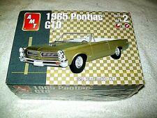 AMT MODEL KIT, 1965 PONTIAC GTO  1:25 SCALE SEALED  #31514