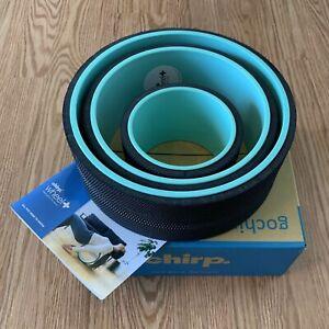 CHIRP WHEEL - Yoga Back Roller 3 Pack - 6 10 12 Inch Wheels - BoxedUp