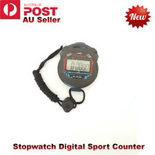 Handheld Stopwatch Digital Sport Counter Training Timer Stop Watch Chronograph