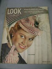 LOOK MAGAZINE APRIL 16 1946 JOAN CAULFIELD WHAT WILL HAPPEN TO CHURCHILL